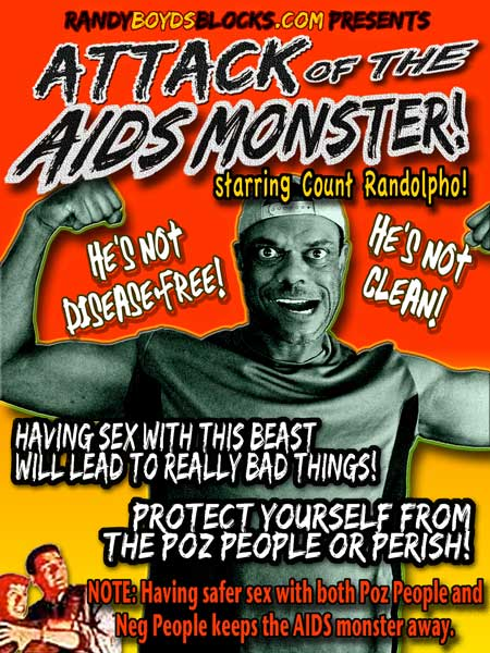 Attack of the AIDS Monster