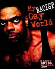 My racist gay world