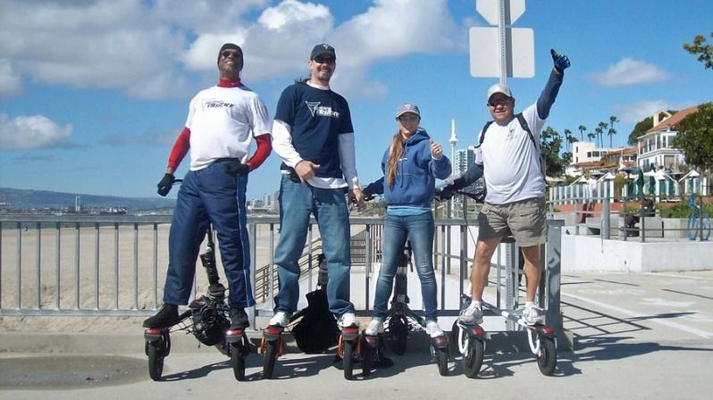 Trikke riders group shot