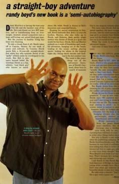 Randy Boyd in XY magazine